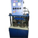 Semi Automatic Double Die Pattal Dona Machine