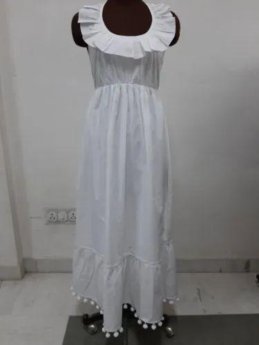 Neck Frill Dress