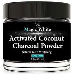 Magic White Activated Coconut Powder For Teeth Whitening