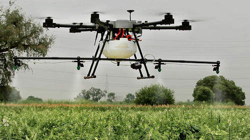 Agribot - Agriculture Pesticide Spray Drone