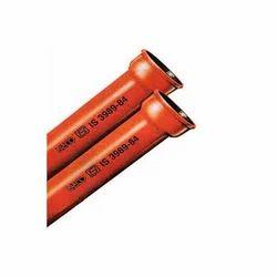 Neco Cast Iron Spun Pipes, 3 meter, Size/Diameter: 4 inch