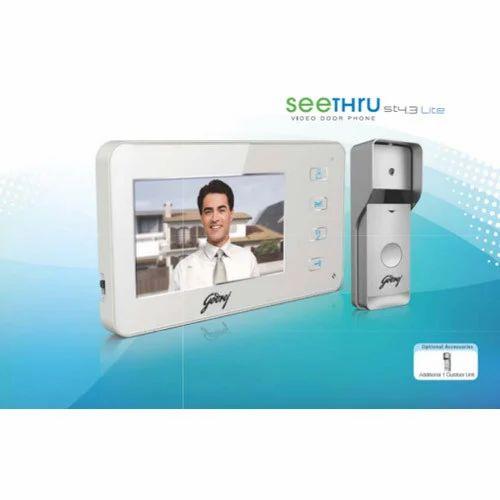 f963a12fd5f Plastic Godrej Seethru ST 4.3 Lite Video Door Security System, Rs ...