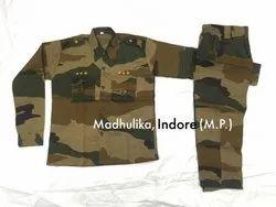 Madhulika Indian Army Military Costume