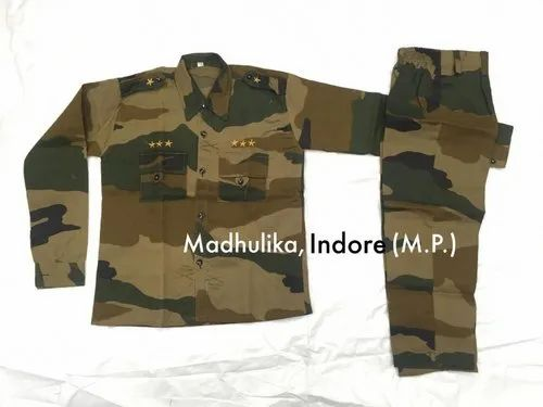 Madhulika Indian Army Military Costume