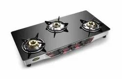 sumit udyog Black LPG Burners, Model Name/Number: Lpg Stove Manufacturer, Size: 770 X 380