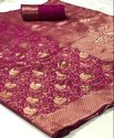 Banarasi Silk Saree with Reach Pallu