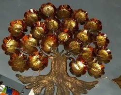 Tribal Black Iron Decor Tree