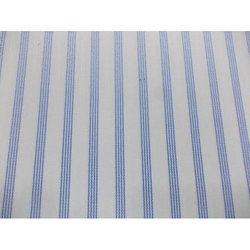 Mascot Striped Cotton Shirting Fabric