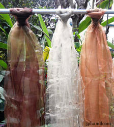 Light Weight Organza Silk Dyed Scarf