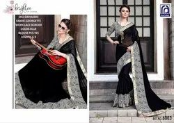 Rachna Georgette Sikha Catalog Saree Set For Woman 3