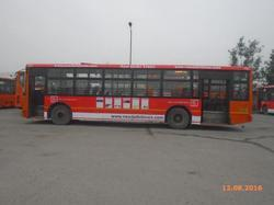 Outdoor Mounting And One Month Rental Cluster Bus Advertising, For Brand Promotion, in Delhi