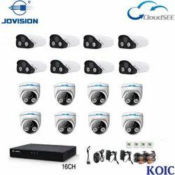 8 Channel IP Camera Kit