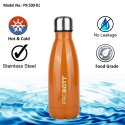 Probott Stainless Steel Double Wall Vacuum Flask Tradition Sports Bottle 500ml PB 500-01