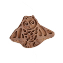 Owl Shape Henna Printing Blocks