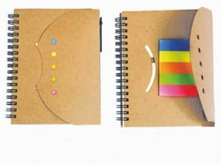 A6 Ecoline Wrap Around Notebook Sticky Note