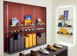 Interior Designing Of Shoes Store, Work Provided: Wood Work & Furniture