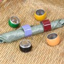 Colourful Metal Napkin Ring