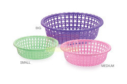 Apple Plastic Basket
