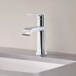 Stainless Steel Silver Bath Faucets, Standard