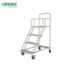 FRP Trolley Step Ladder