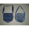 Denim Handle Bag