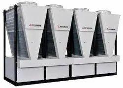 3 Phase Mitsubishi Air Cooled Chillers, Capacity : 50 - 5000 Ton