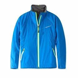 Polyester Blue Kids Jacket