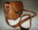 Genuine Leather Small Messenger Bag