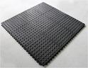 2 Years Warranty Semi Circle Gym Floor Mat (Interconnecting)