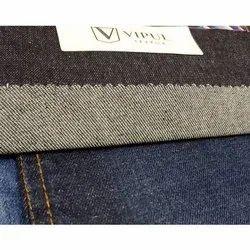 Plain Indigo Apparel Denim Fabric, Packaging Type: Roll