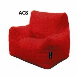 Maruti Fun Plain Red Armchair Bean Bag Rs 900 Piece Maruti Fun