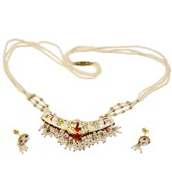 Fancy Jodhpuri Lacquer Necklace Set 173