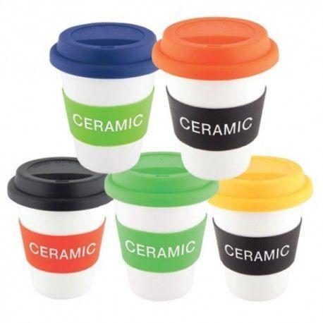 503453e4d20 Silicone Lid & Grip Ceramic Coffee Mugs, For Home, Rs 250 /piece ...