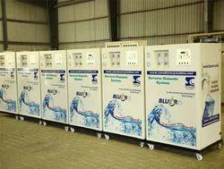 Blue RO Industrial Water Purifier Plants