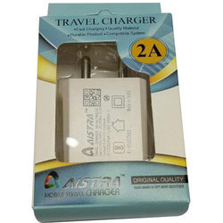 White Mobile Charger Adapter