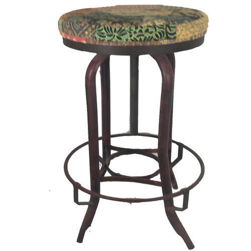 Lalji Handicrafts Multi Color Iron Vintage Bar Chairs At Rs 3000