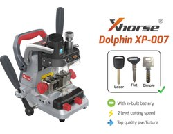 Xhorse Dolphin 007 Laser, Dimple, Flat Key Cutting Machine