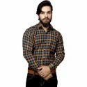 Men Checkered Casual Multicolor  Shirt