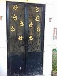 Iron Grill Double Door