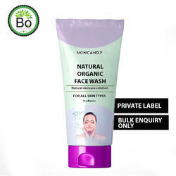 Natural Organic Face Wash, For Personal , Packaging Type: Tube