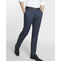 Regular Fit Plain Men Formal Pant, Machine wash