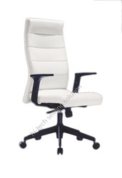 High Back White Boss Chairs