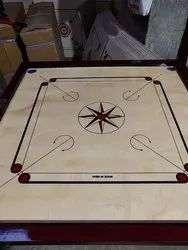 Wood Wooden Carrom Board, Size: Full 1.5 Inches