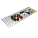 Double Bowl Drain Stainless Steel Kitchen Sink
