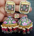 CL Code Celebrity Style Fashion Jewellery Fancy Enamel Earrings