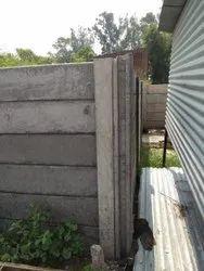 RCC M30 Grade Concrete Godown Boundary Wall