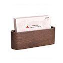 Wooden Desk Visiting Card Holder