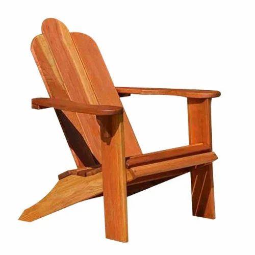 Brown Antique Wooden Beach Chair - Brown Antique Wooden Beach Chair, Rs 4000 /piece, Infinite Scales