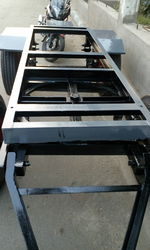 Stainless Steel, Mild Steel Floor Trolley