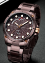 Round Nf9152 Naviforce Luxury Stainless Steel Men